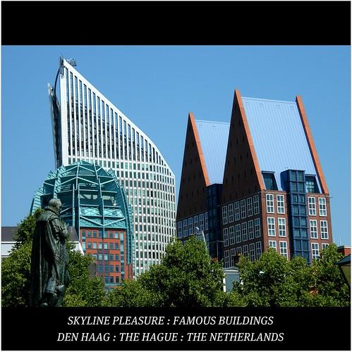 Den Haag : The Hague : SUNSHINE = SKYLINE : Famous Buildings : explored! Enjoy the views! WORLD : SENSE! :)
