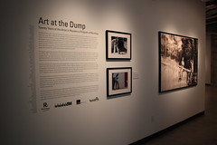 """Art at the Dump"" Exhibition Reception Brings Out More Than 600 People"