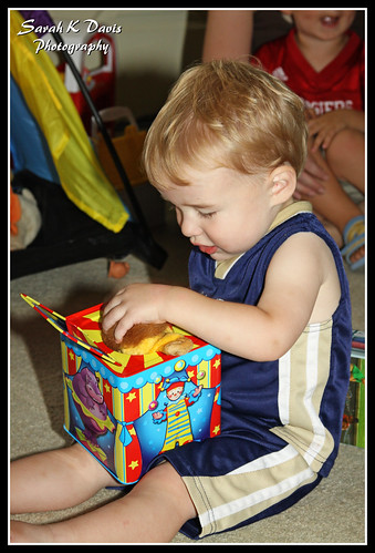 Cole & his Jack-in-the-box