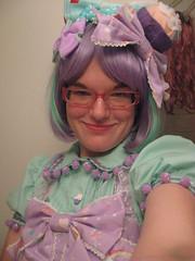 blouse and planet coord samples 015 (The Osaka Koneko) Tags: handmade lavender mint blouse lolita icecream snapshots bows coordinate angelicpretty 100722 kinkikitty milkyplanet