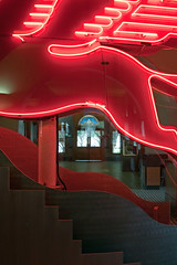 Pegasus in Old Red Courthouse (Caren Mack Photography) Tags: new york old red building museum canon casa dallas flickr downtown neon texas mobil fair gas linda american worlds magnolia mack caren 1939 dallasdowntown 50d canon50d petrleum soconyvacuum carensphototrip carenmack