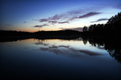 Lacey Road Sunset (Jack Fusco) Tags: sunset lake reflection canon rebel newjersey nj lacey oceancounty xti flickraward yourphototips jackfusco wwwjackfuscocom