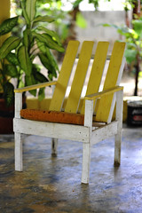 2010 06 Yellow Wooden Chair - 082 (vinylmeister) Tags: white home colors june yellow photography dominicanrepublic interior year cities 2010 photocamera nikond700 nikonafnikkor85mmf14dif guajaca scenicviiews