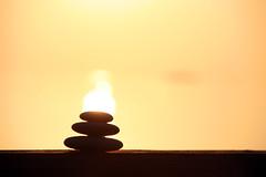 Brennende Steine (Oliver Haja) Tags: ocean holiday water sunrise meer wasser stones urlaub steine sonnenaufgang flaming brennen ozean