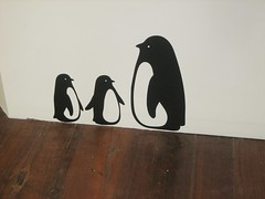 penguin wall decal at little design horse