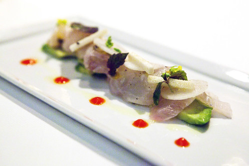 Local Fluke Ceviche