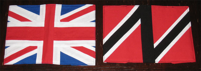 Union Jack and Trinidad Passport Covers