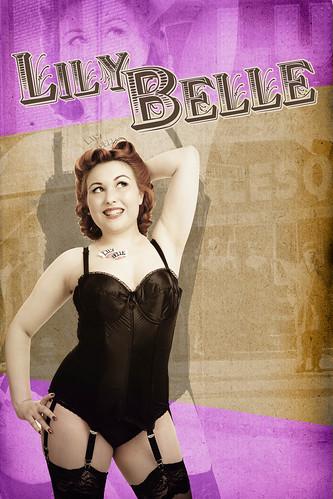 Lily Belle Bristol Burlesque Artiste