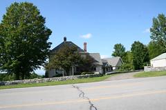Former Clausen caretaker cottage (Kellsboro) Tags: farmhouse route20 caretaker sharonspringsny clausenfarms clausenbeer georgeuclausen