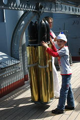 naval shells (cam17) Tags: stpetersburg russia aurora cruiser cruiseraurora russianrevolution russiannavy russianrivercruise signalshots largeshells brassshallcasing