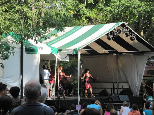 belly dancing in the park, Lowell Folk Festival 2010