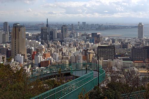 ヴィーナスブリッジ 神戸 南京錠 愛の橋