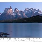Los Cuernos del Paine by dawn