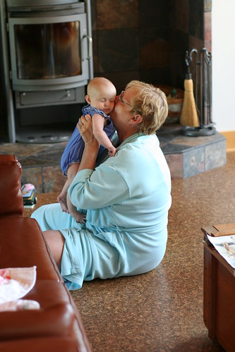 Grammie kisses