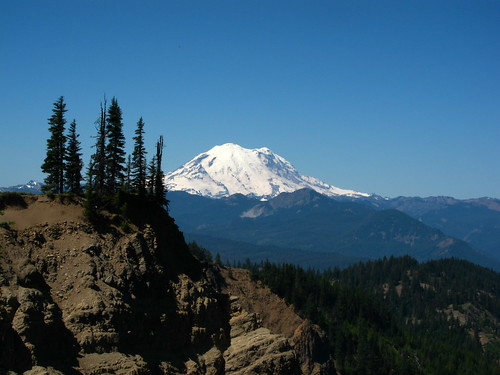 Rainier from Devil's Slide