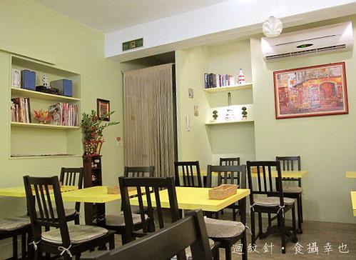 法蕾薄餅咖啡屋店內