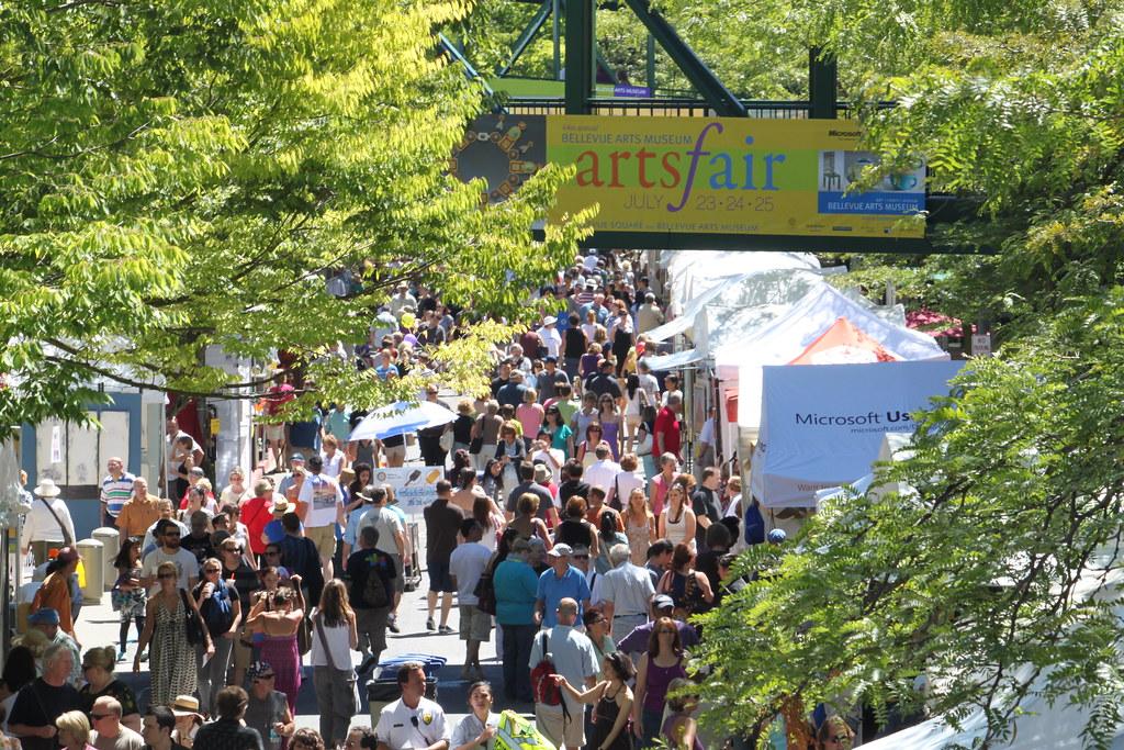 Bellevue Arts Week Bellevue Arts Fair Festivals July 27 29 2018