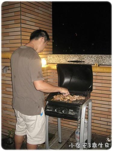 100723-陽台烤肉