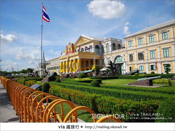 【泰國自由行】曼谷玩什麼?Segway塞格威帶你漫遊~17