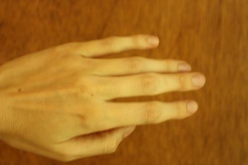 nude finger