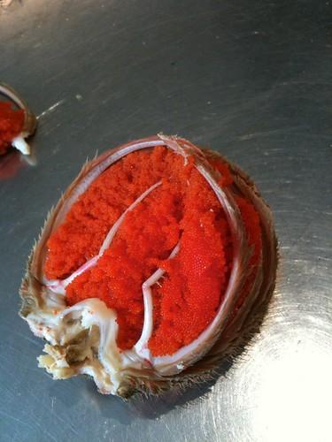 œufs de crab