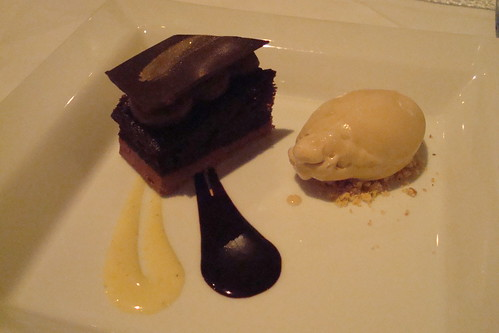 Gianduja with Hazelnut Ice Cream