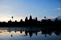 吴哥窟剪影 / Silhouette of Angkor Wat