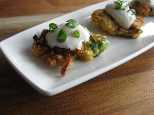 Vegetable Fritters @ An Edible Mosaic