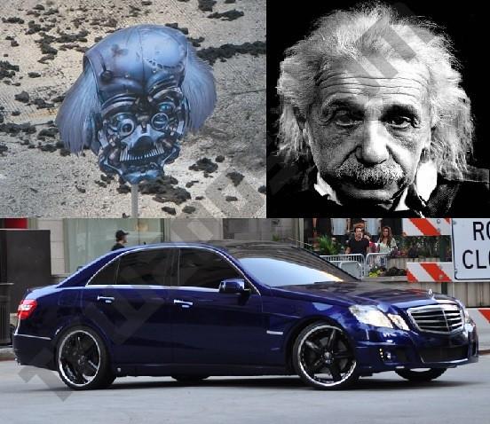 Transformers 3 Mercedes 550 Einstein