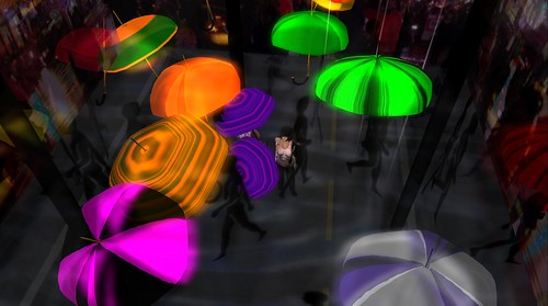 """Nishi Mip's """"Umbrellas"""""""