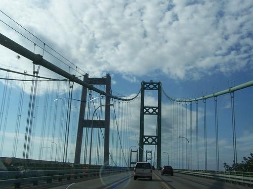 july 198 The Tacoma Narrows bridge