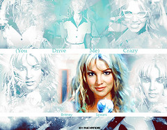 (You Drive Me) Crazy (Alexandre_1) Tags: light baby verde green me photoshop one drive crazy time you spears quality low caps 1999 more lq alexandre britney 2010 blend clipe alexandre596