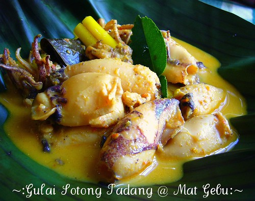 Gulai Sotong Padang