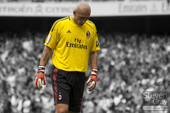 People - Football - Christian Abbiati 32 - AC Milan - Emirates Cup 2010 - Emirates London - Steven Gray - BWC - IMG_0406