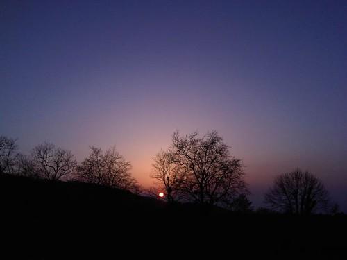 Puesta de sol en Guadalupe Ohhhhhh!!