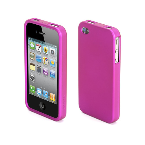 Outfit Ice pink iPhone 4 case