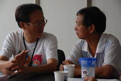 霍岱珊與台灣河川守護者黃煥彰老師的短暫邂逅。