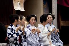 Kamishichiken Bon-Odori #8 (Onihide) Tags: summer festival japan kyoto maiko geiko bondance bonodori   katsukiyo ichiteru ichimomo   kamishichiken
