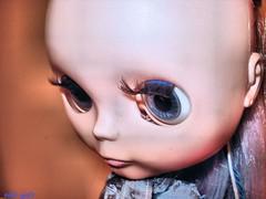 Skye finally has lashes