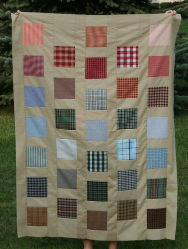 i love plaid! quilt, version two