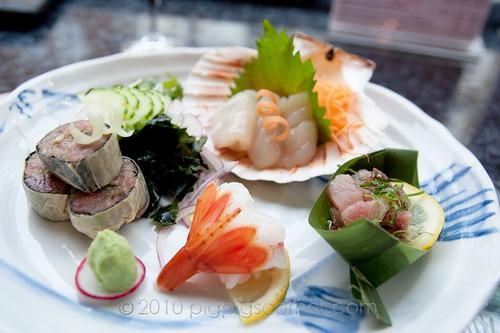 Sushi of Shiori sashimi
