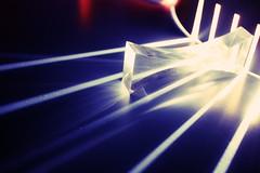 Superhuman (Karalynn.) Tags: blue light prism reflect