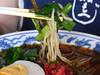 冷やし満州ニラらーめんの麺