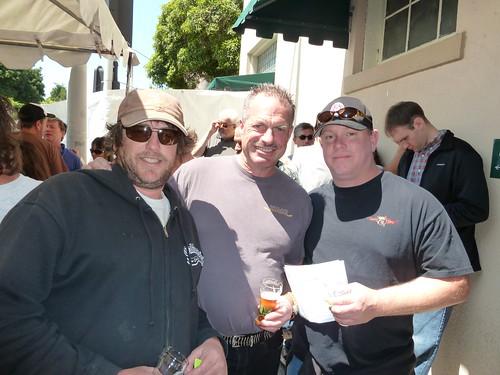 Steve McDaniels, Bruce Paton and Arne Johnson