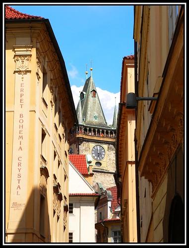 Blick auf den Rathausturm
