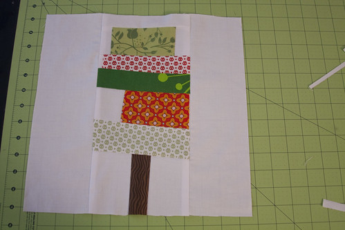 Wonky Tree block