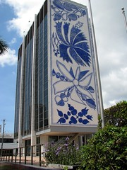 Bacardi Bldg., Miami (Dan_DC) Tags: architecture modern mural florida miami modernism officebuilding headquarters midtown fl bacardi modernstyle biscayneblvd bacardibuilding bacardiusainc