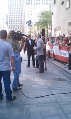 I touched Matt Lauer.