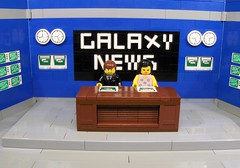 LIU Galaxy News (Ludgonious) Tags: liu tv tv2 news galaxy newsroom station lego