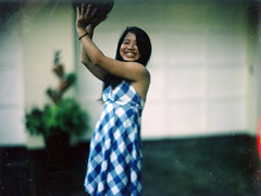 Legendary Japanese basketball great Nana (heart_of_au) Tags: camera film analog tampa fuji florida 4x5 press largeformat speedgraphic templeterrace aeroektar kodakaeroektar fp10045c